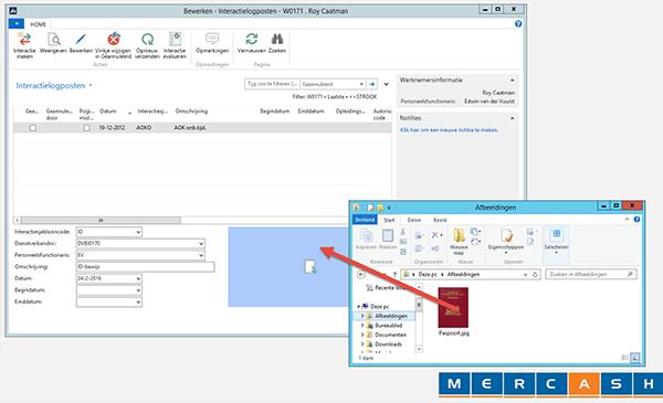Eenvoudig Drag-n-drop met Mercash HR-software