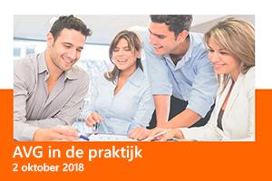 AVG in de praktijk, update 2 oktober 2018