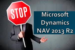 Ondersteuning NAV2013R2 Stopt